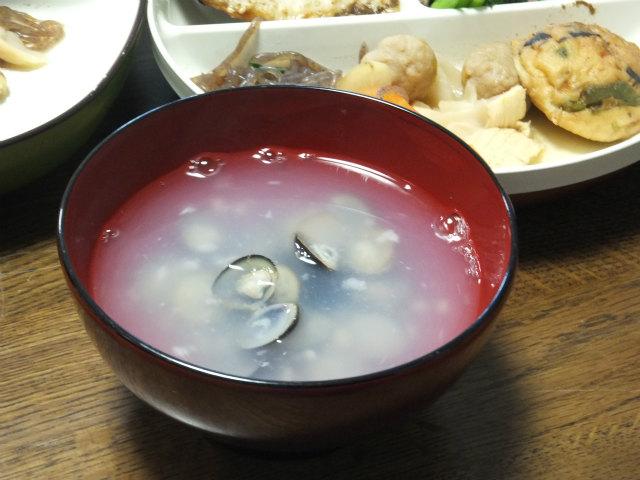 しじみと塩麹の潮汁