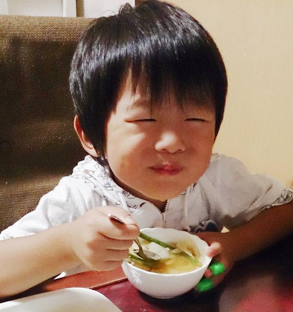 野菜たっぷり 美味しいね 塩麹スープ